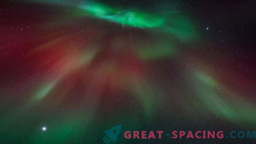 In a solar storm, you can see ... the face of an alien?