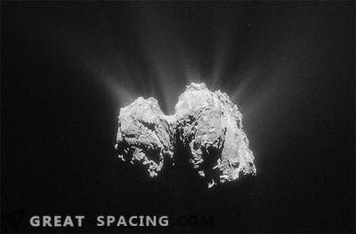 Phil's spacecraft, located on a comet, contacted Rosetta