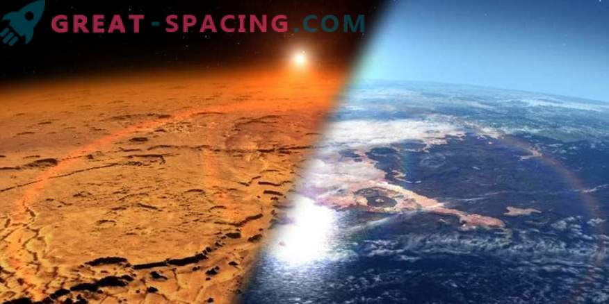 How did the inhabitants of the Earth respond to the news about liquid water on Mars
