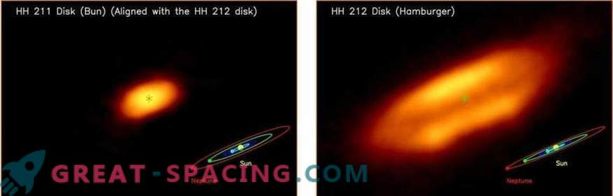 Found the youngest accretion disk around the young star