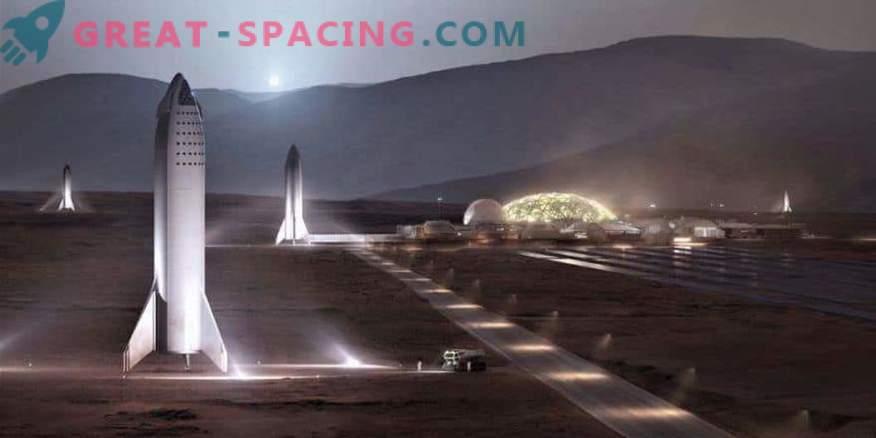 Ilon Musk announces the price of a flight to Mars