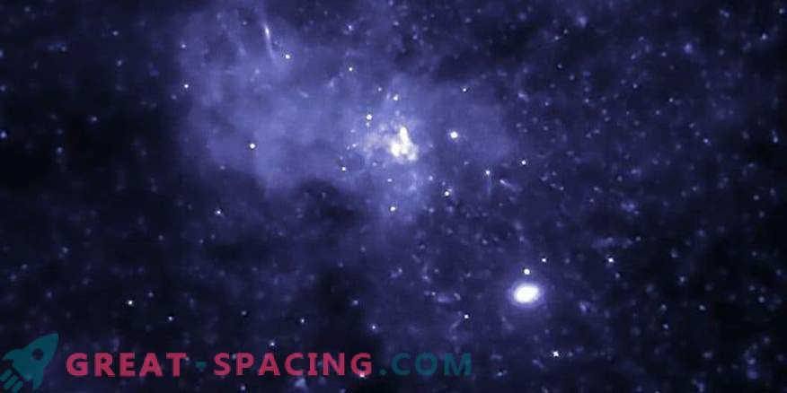 Black hole in the galactic center