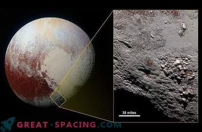 Pluto's huge ice volcano