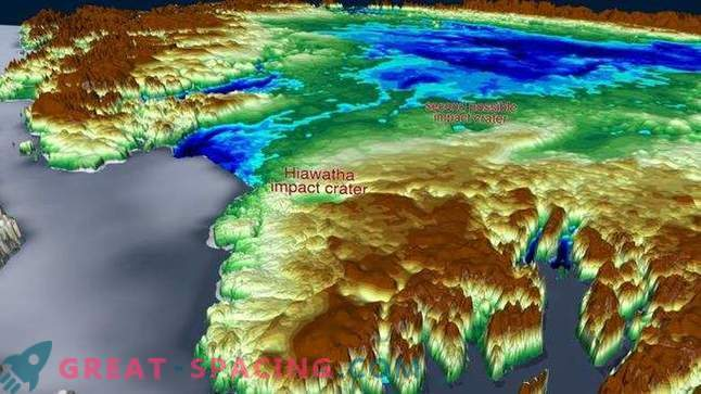 Another massive crater can be hidden under the Greenland ice