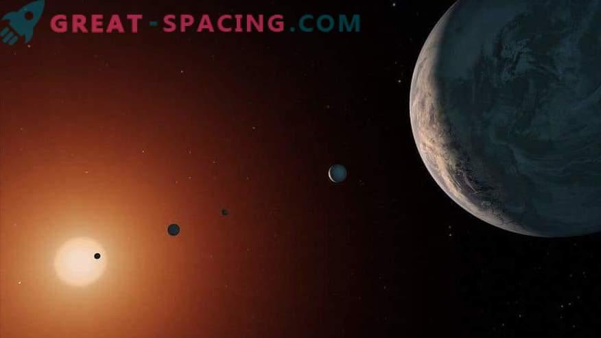 ¿Extranjeros cerca? Los planetas TRAPPIST-1 son adecuados para la vida extraterrestre
