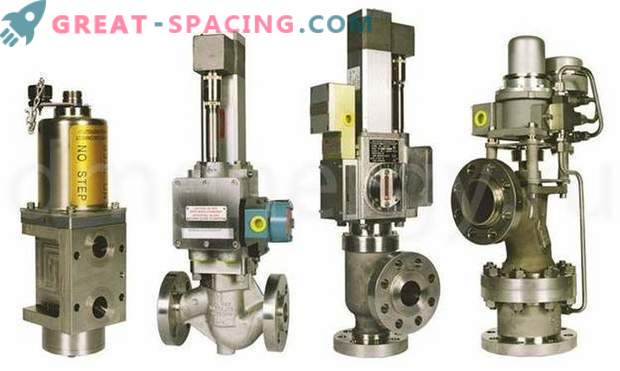 Meggitt Sensors and Valves - a guarantee of reliable operation of turbine equipment.