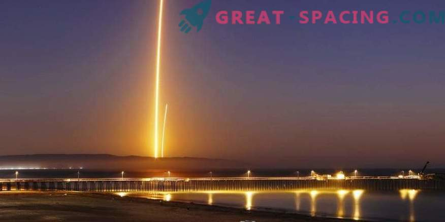 Successful launch of the satellite and landing of the SpaceX rocket