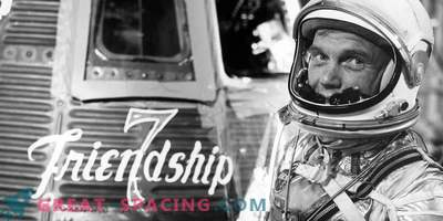 The orbital mission of John Glenn tested the secrets of the human body in space
