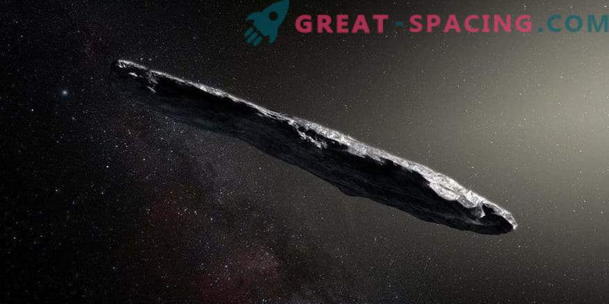 An unusual interstellar asteroid appeared in the survey.