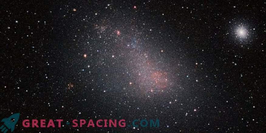 VISTA peeks through the dust curtain of the Small Magellanic Cloud
