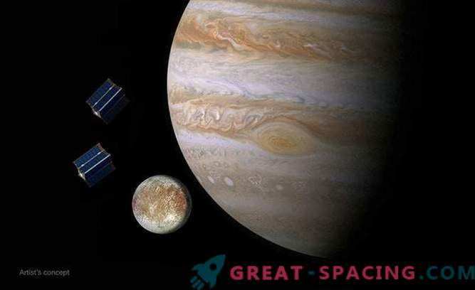 Cubesat satellites can travel to Europe with the Europa Clipper