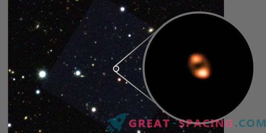 What amazing feature could you notice in a distant galaxy?