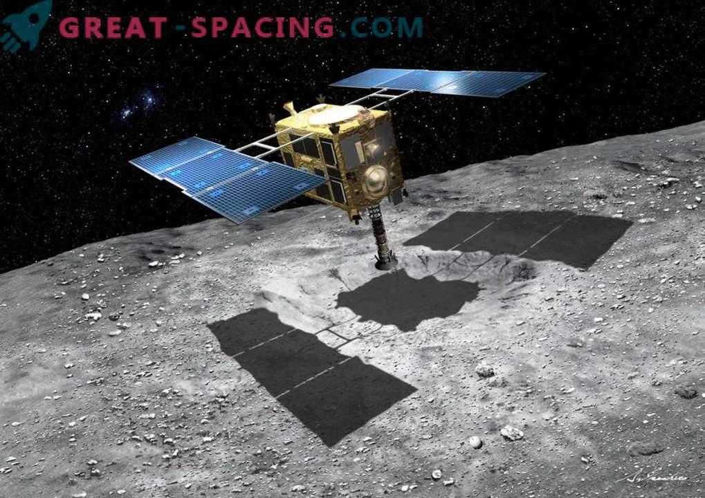 El vehículo que se dirige hacia el asteroide tomó fotos asombrosas de la Tierra