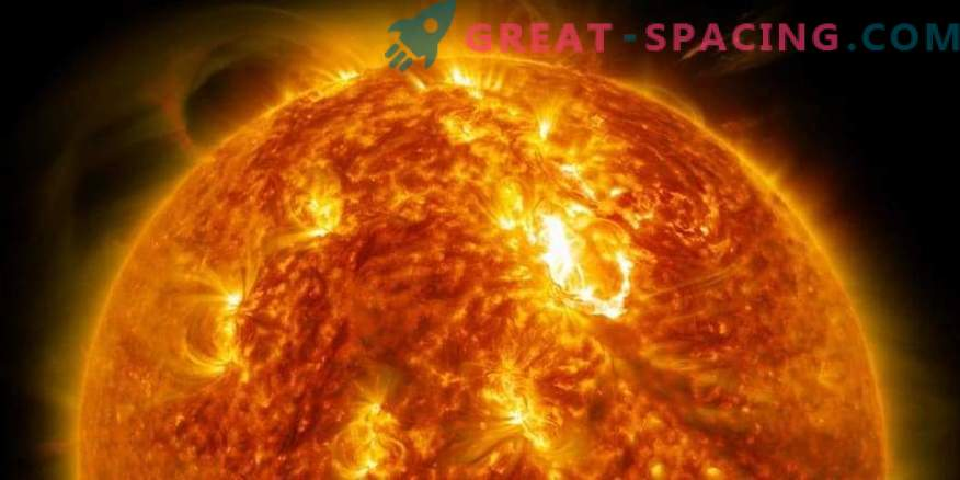The solar core is ahead of the surface in speed