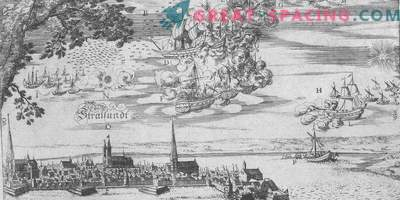 Incident in Bachfert - 1665. Fishermen describe the battle of flying ships
