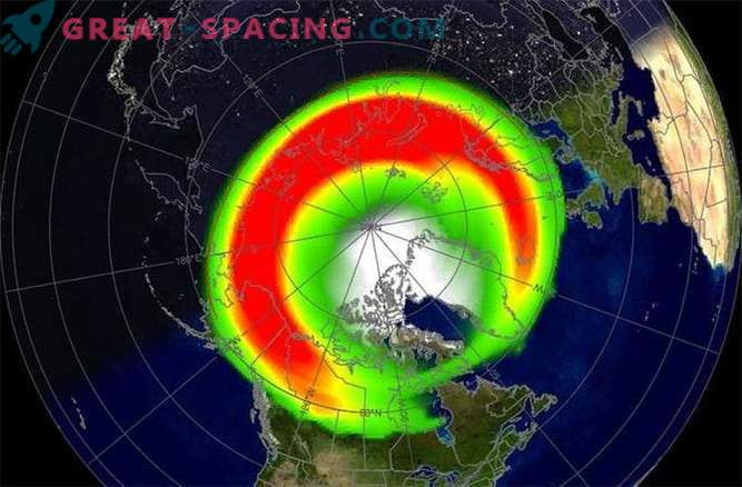 The most powerful solar storm has reached the magnetic field of the Earth