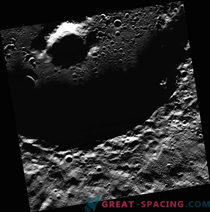 NASA first received photographs of ice on Mercury