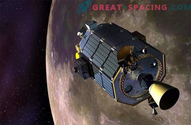Lunar suicide probe makes risky maneuver