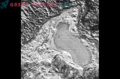Pluto hat Stickstoffseen, die gefrieren und schmelzen.