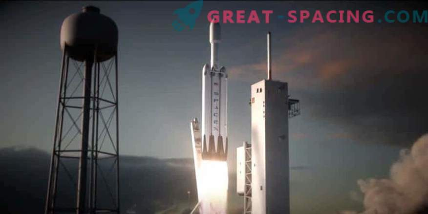 The launch of Falcon Heavy is scheduled for January.