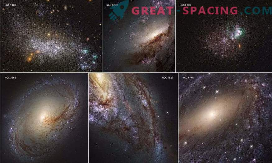 Scientists have released a full review of the UV light of nearby galaxies