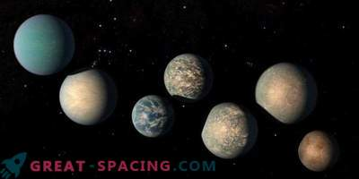 There may be too much water on exoplanets TRAPPIST-1