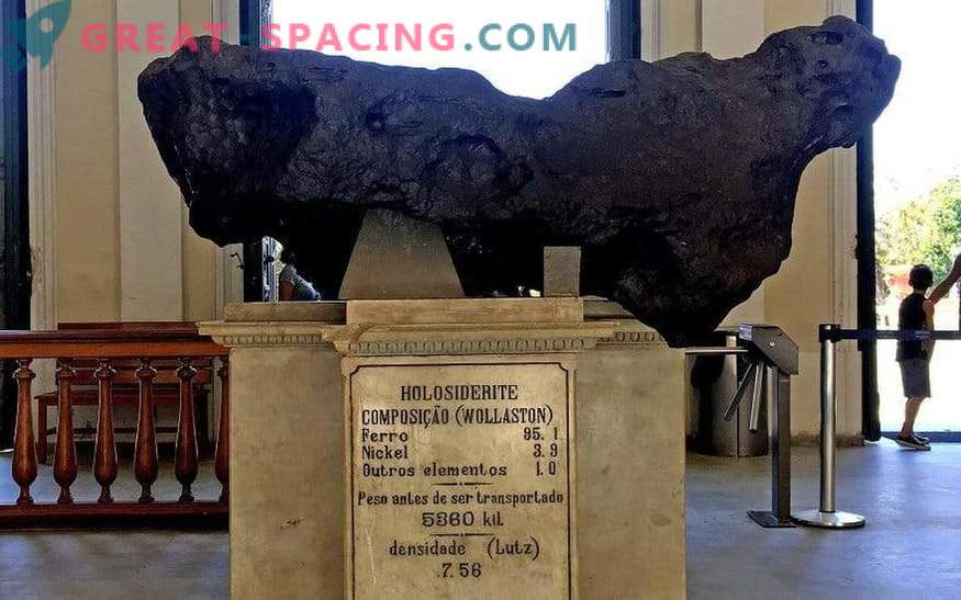 The largest Brazilian meteorite managed to survive a serious fire