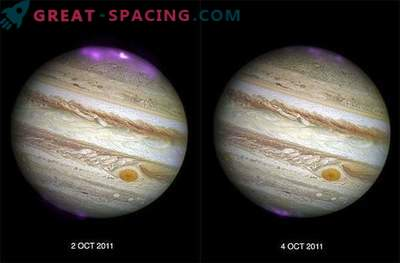 Solar storms ignite intense X-ray glow on Jupiter