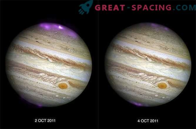 Solar storms ignite intense X-ray glow on Jupiter