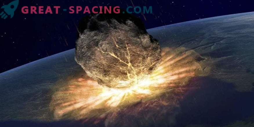What happens if a meteorite hits Earth