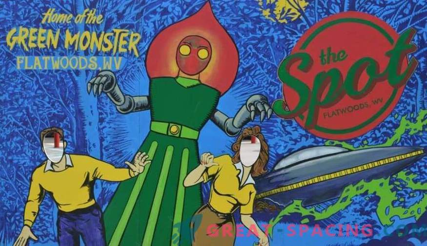 The story of the Flatwood Monster. What a creature was described by children in 1952