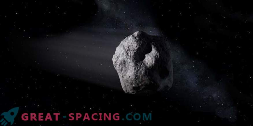 Asteroid 2002 AJ129 is expected to arrive