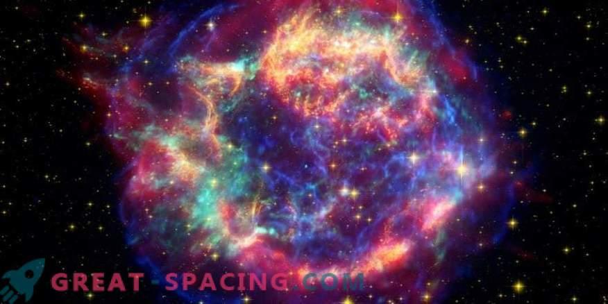 Supernova võib jätta meteoriididele märke