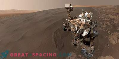 Organic chemistry may be on the Martian surface