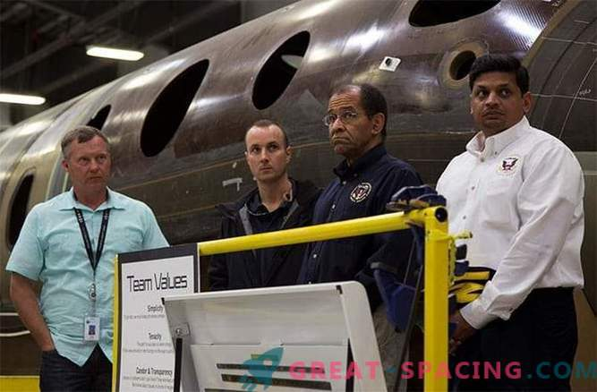 Good luck saved the life of the second SpaceShipTwo pilot