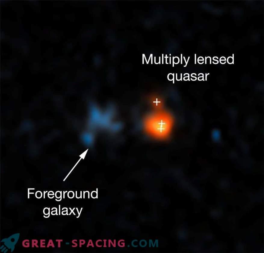 Kõige eredam kvasar paistab varases universumis.