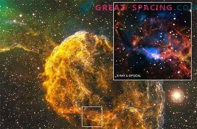 Mysterious pulsar and nebula are born from one supernova