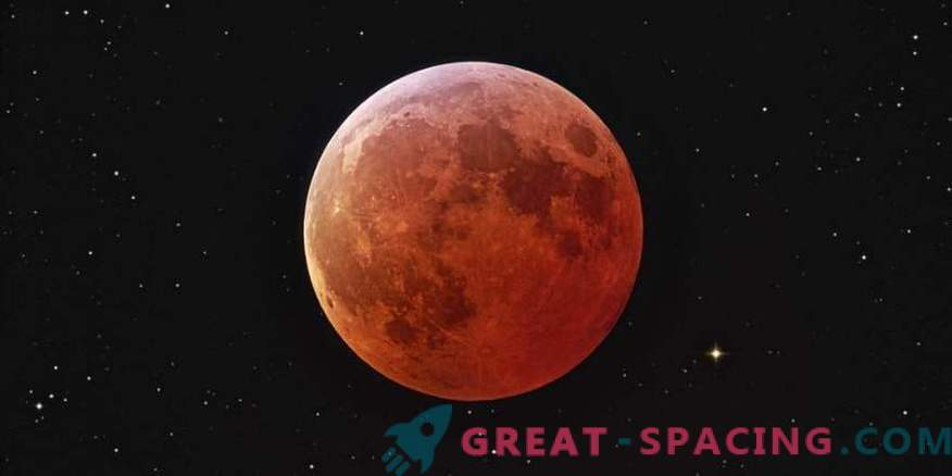 Blue Moon, Super Moon, and Total Lunar Eclipse