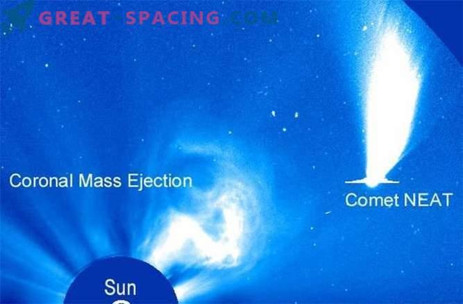 Strange and amazing SOHO Observations: Photos