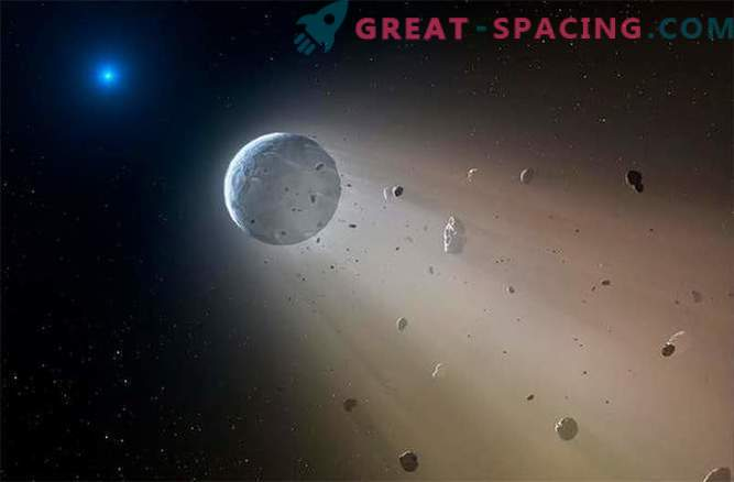 Caught red-handed: a white dwarf kills the planet.