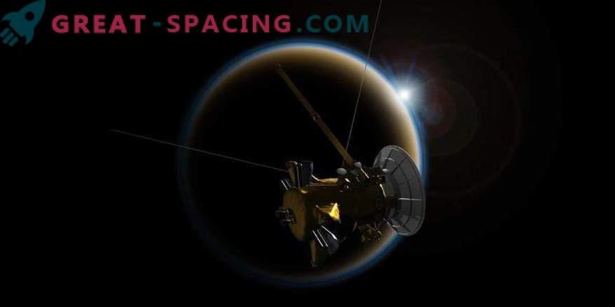 Cassini final meeting with Titan