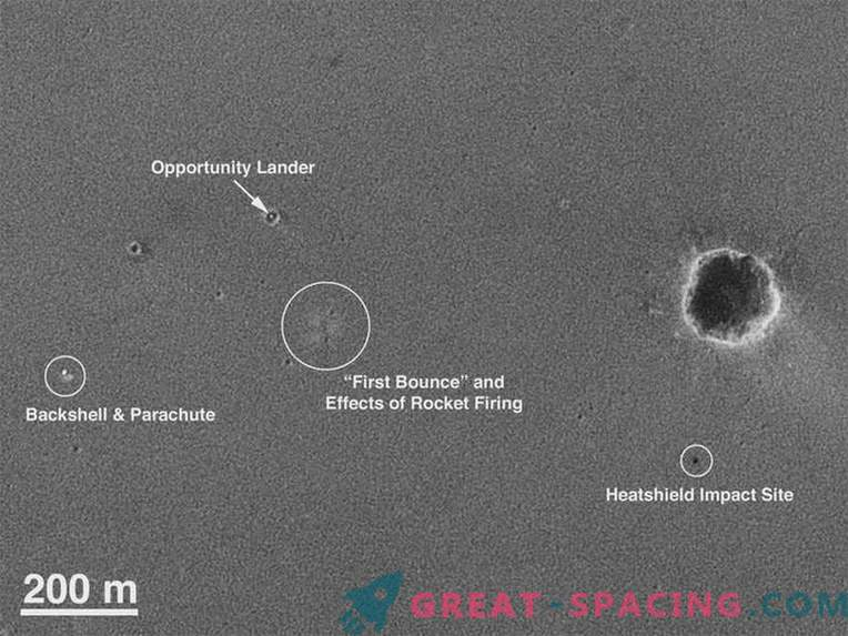A fresh look at landing traces. Opportunity