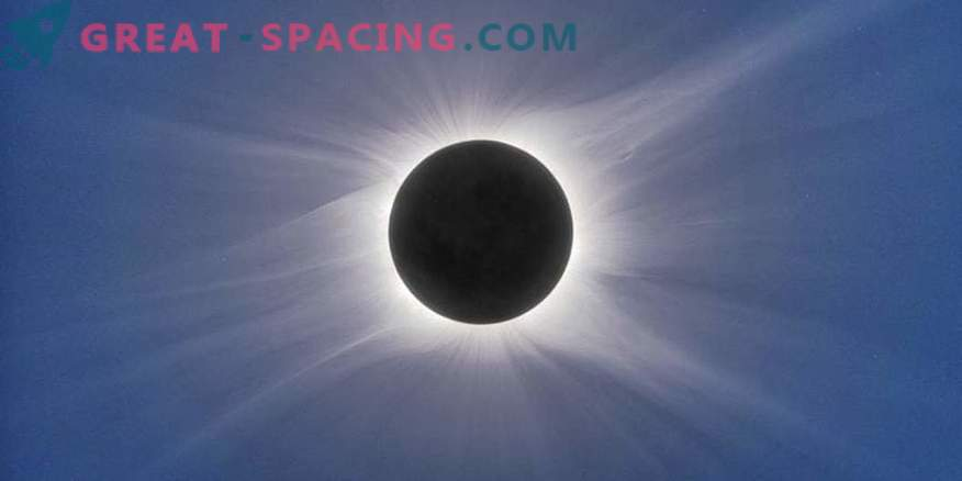 Possible form of the solar corona for an eclipse in August