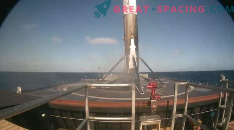 Triumphant return to spaceX flight