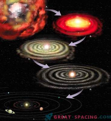 How Saturn was formed