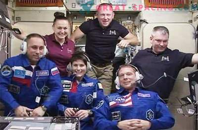 New crew members safely arrived on the ISS