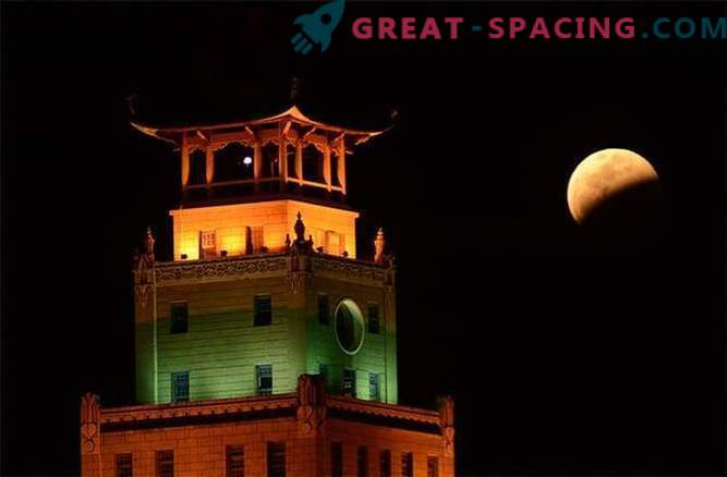 A selection of the best photos of the lunar eclipse