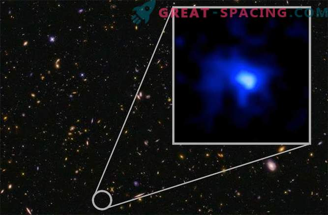 Scientists were able to see the most distant galaxy