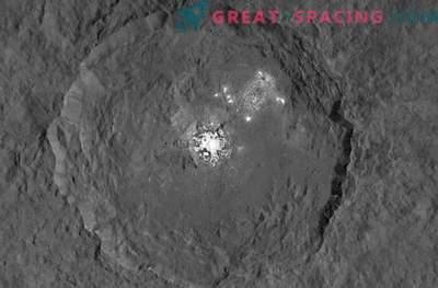 NASA-Sonde untersucht die mysteriösen Stellen von Ceres