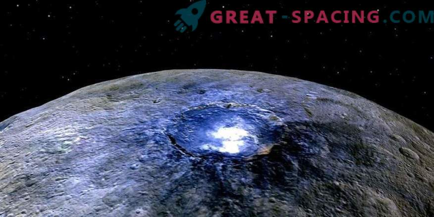 Ceres hides a huge ice tank